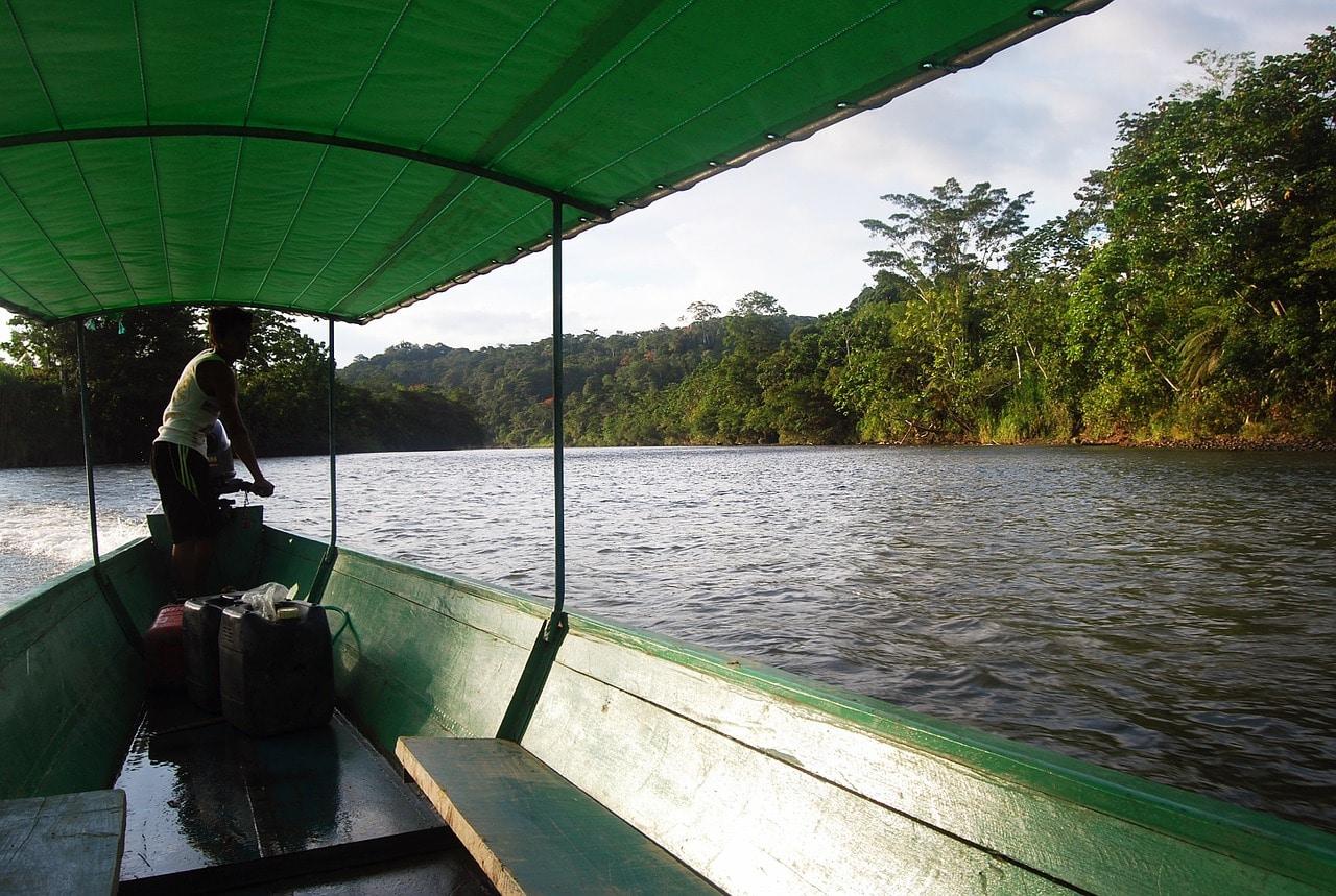 amazon, canoe, river