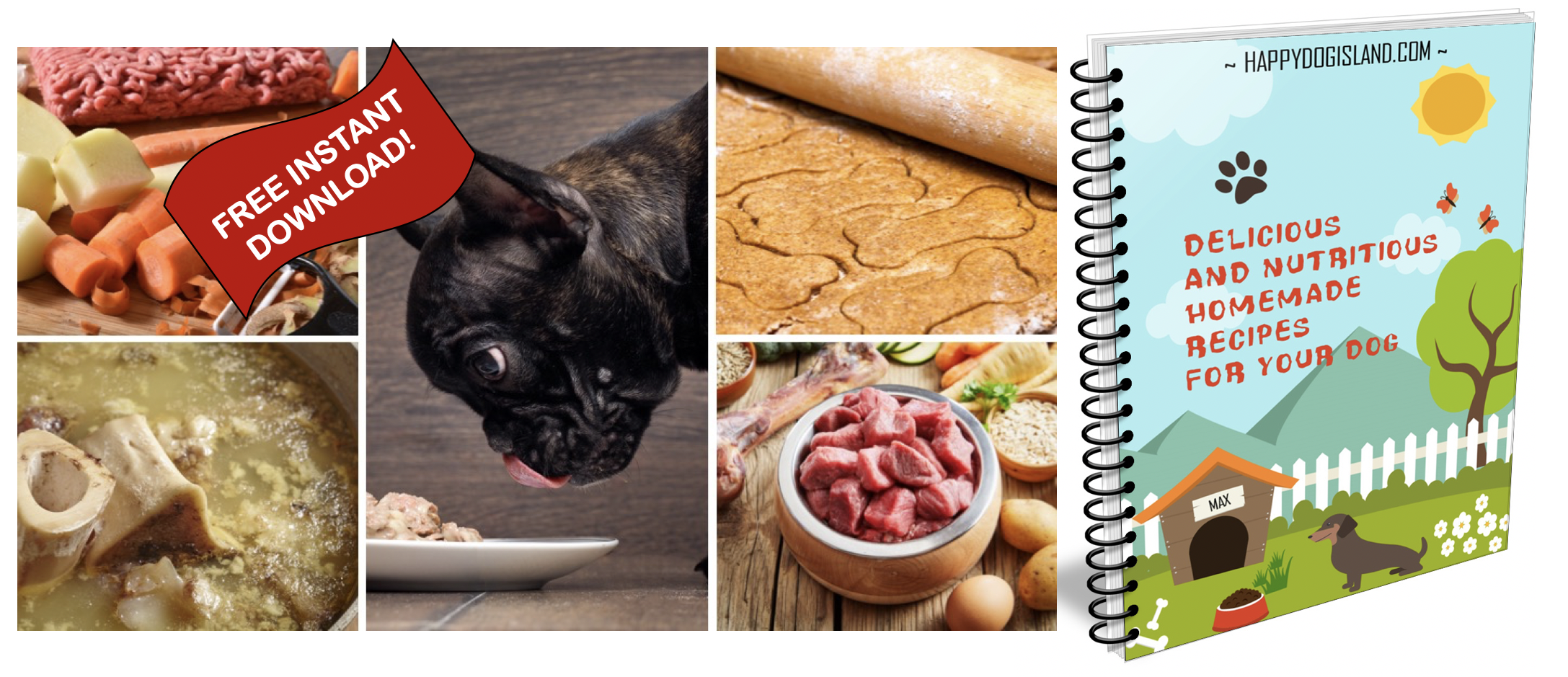 Free Cookbook for Dogs