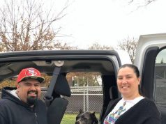 Pitbull adopted after 5 years